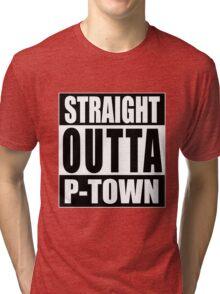 Straight Outta P-town Tri-blend T-Shirt