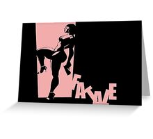 Fatale Greeting Card