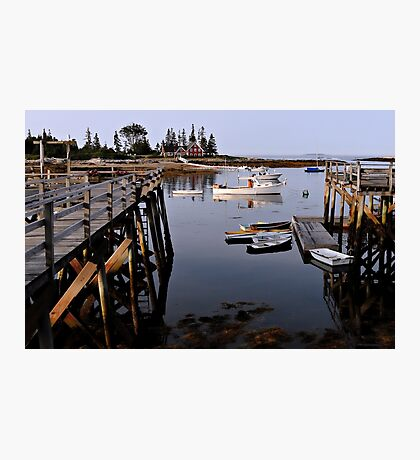 Quiet Harbor - Cape Newagen,  Maine Photographic Print