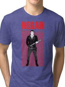 The Walking Dead - Negan & Lucille 5 Tri-blend T-Shirt