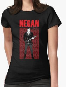 The Walking Dead - Negan & Lucille 5 Womens Fitted T-Shirt
