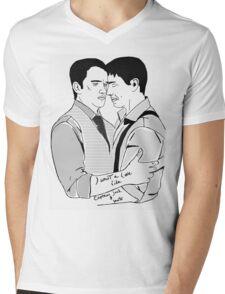 Torchwood's most splendid couple.. Mens V-Neck T-Shirt