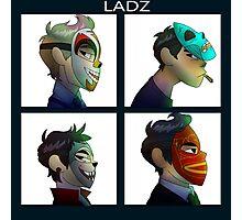 Dodgy Ladz Photographic Print