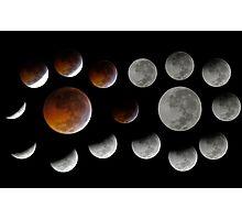 Lunar Eclipse 2010-12-21 Photographic Print