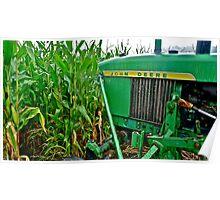 Farming Rain or Shine Poster