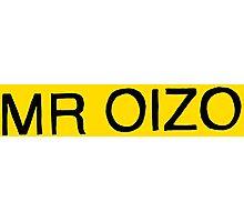 Mr. Oizo Logo Photographic Print