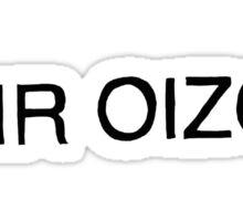 Mr. Oizo Logo Sticker