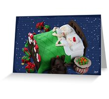 May your Christmases be merry and bright and may all your cakes be luscious and light. Greeting Card