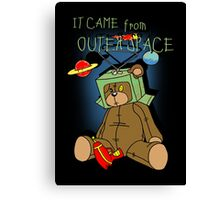 It Came from Outer Space - in technicolor Canvas Print