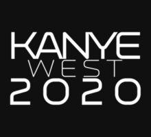 Kanye West 2020 (White on Black) T-Shirt