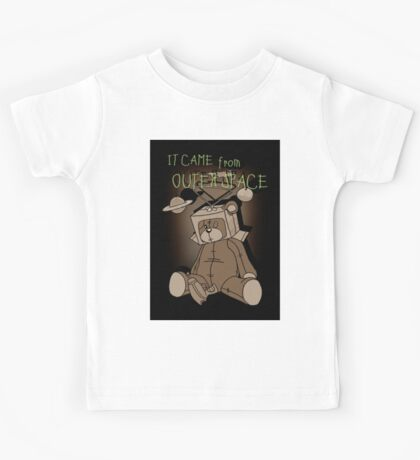 It Came from Outer Space - in sepiatone Kids Tee