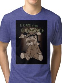 It Came from Outer Space - in sepiatone Tri-blend T-Shirt