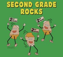 Second Grade Rocks by BartholGraphics