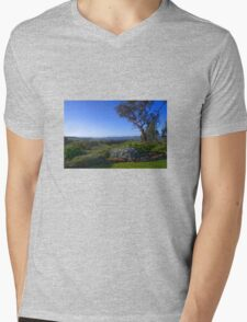 A view from the house Mens V-Neck T-Shirt