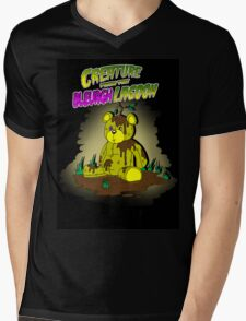 Creature from the Bleurgh Lagoon - in technicolor Mens V-Neck T-Shirt