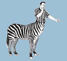 Zebra Centaur Kids Tee