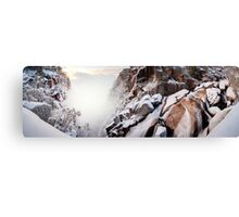 Crystal Falls, Mt Buffalo, Victoria, Australia Canvas Print