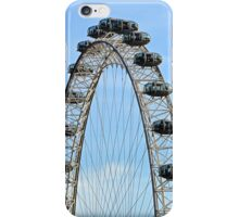 I spy with my little eye... The London Eye... iPhone Case/Skin