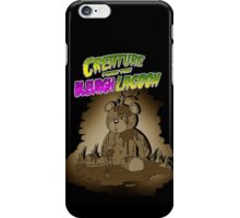 Creature from the Bleurgh Lagoon - in Sepiatone iPhone Case/Skin
