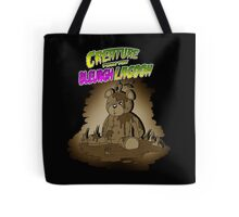Creature from the Bleurgh Lagoon - in Sepiatone Tote Bag