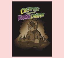 Creature from the Bleurgh Lagoon - in Sepiatone Baby Tee