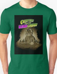 Creature from the Bleurgh Lagoon - in Sepiatone Unisex T-Shirt