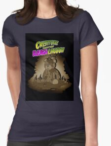Creature from the Bleurgh Lagoon - in Sepiatone Womens Fitted T-Shirt