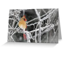 Pretty Girl Greeting Card