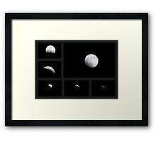 Winter Solstice Lunar Eclipse ~ 2010 Framed Print