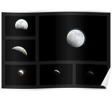 Winter Solstice Lunar Eclipse ~ 2010 Poster