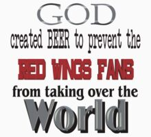 God, Beer & the Detroit Red Wings by Quatrosales