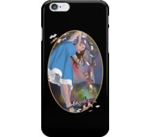 Flying Cards Dissolve Alice's Dream - Cut out iPhone Case/Skin