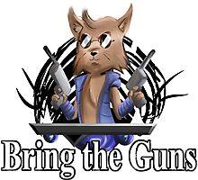 Bring the Guns Photographic Print