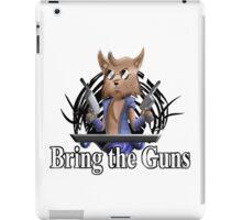 Bring the Guns iPad Case/Skin