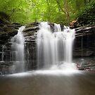 Blissful Summer Evening Below Wyandot Falls by Gene Walls
