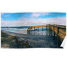 Ocean Boardwalk Poster