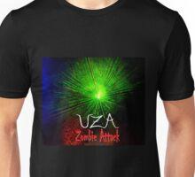 Laser Green UZA Zombie Attack. Unisex T-Shirt