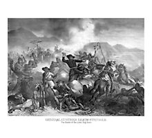 General Custer's Death Struggle Photographic Print