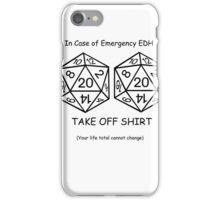 EDH Challenge  iPhone Case/Skin