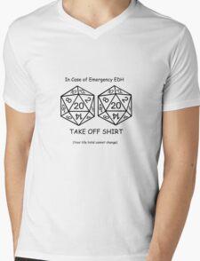 EDH Challenge  Mens V-Neck T-Shirt