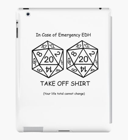 EDH Challenge  iPad Case/Skin