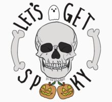 Let's Get Spooky One Piece - Short Sleeve
