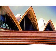 Sydney Opera House Steps Photographic Print