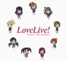 Love Live! Chibi (English Logo) by Squidcase