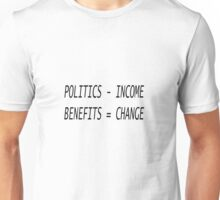 Advertise the fastest way to change the government Unisex T-Shirt