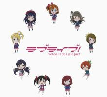 Love Live! Chibi by Squidcase