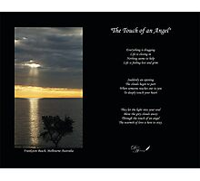 The Touch of an Angel Photographic Print
