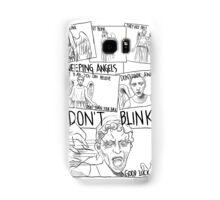 Weeping Angel Comic Samsung Galaxy Case/Skin