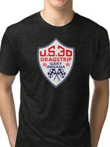 U.S.30 Dragstrip Shirt Tri-blend T-Shirt