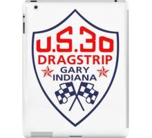 U.S.30 Dragstrip Shirt iPad Case/Skin